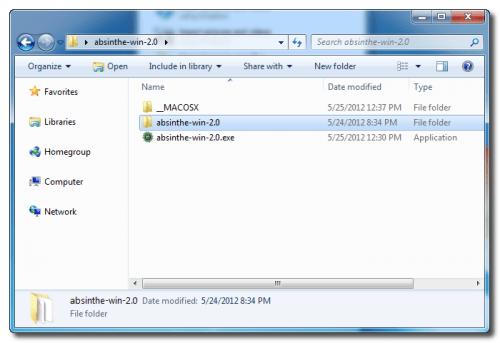 Absinthe New Folder
